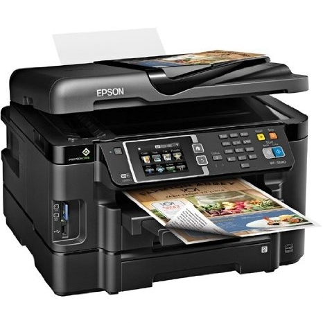 epson workforce 3640 injet color multifunction printer copy scan fax ethernet wi fi. Black Bedroom Furniture Sets. Home Design Ideas